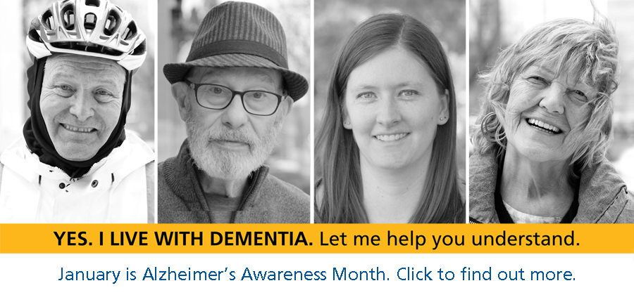 January is Alzheimer's Awareness Month