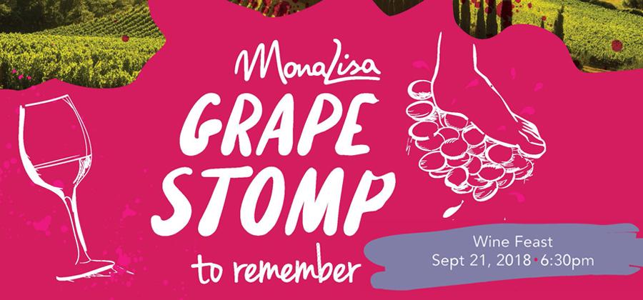 Mona Lisa Grape Stomp