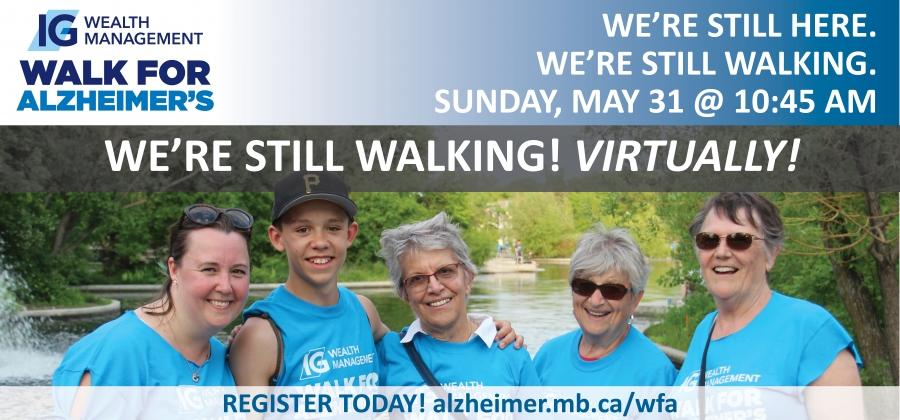 IG Wealth Management Walk for Alzheimer's Online