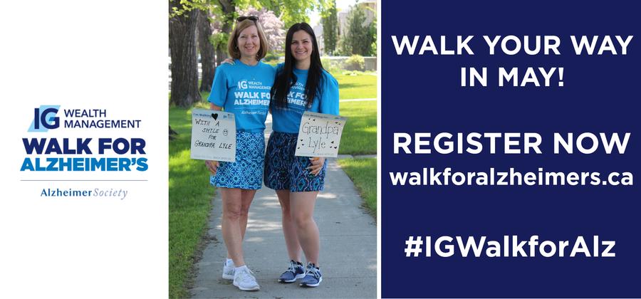 IG Wealth Management Walk for Alzheimer's
